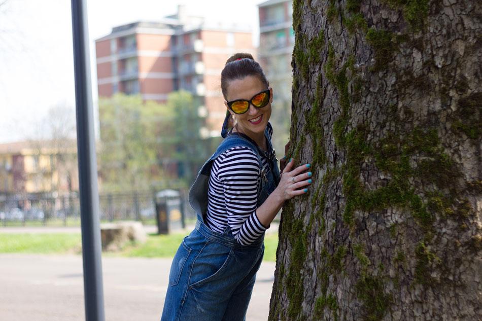 Fashion blogger, Overalls Style