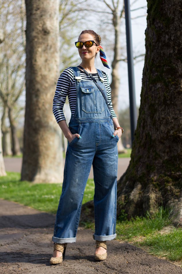 fashion outfit, Overalls Style