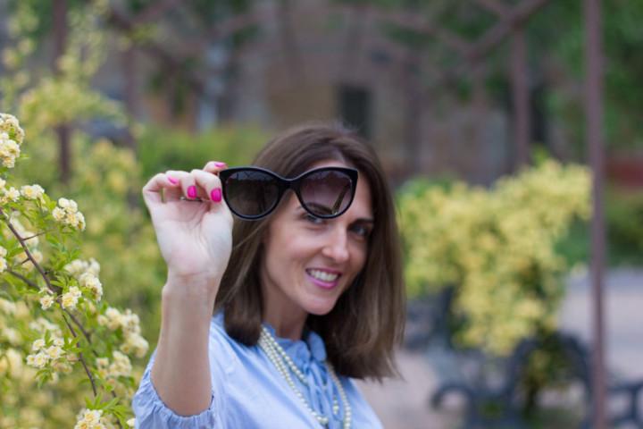 Cat eye sunnies of Dolce&Gabbana from Sunglasses Shop
