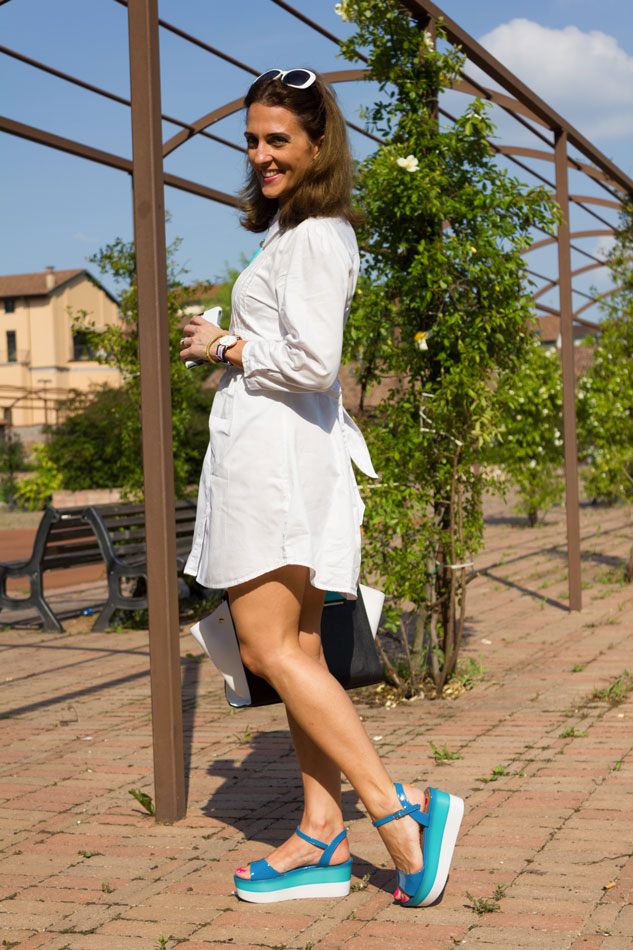 Shirt Dress spring outfit