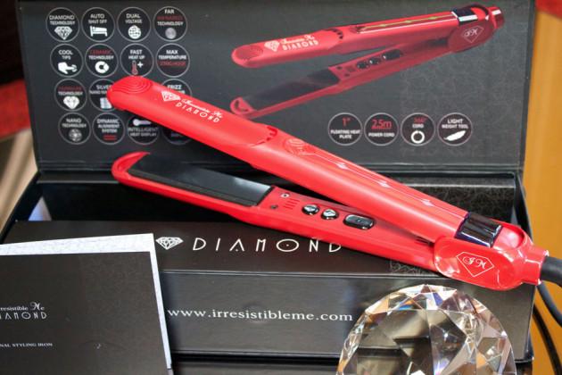 Essere IrresistibleMe con la nuova piastra Diamond Hair Styler 1