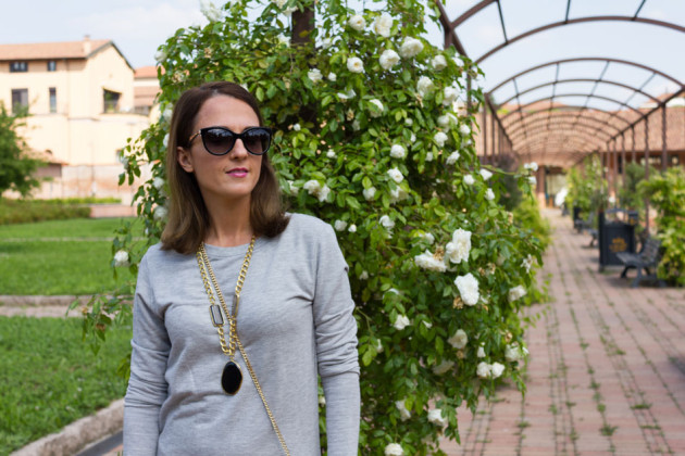 Sweatshirt dress my personal outfit (trends)