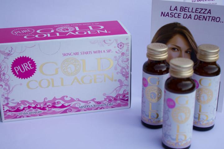 Pelle giovane grazie a Pure Gold Collagen