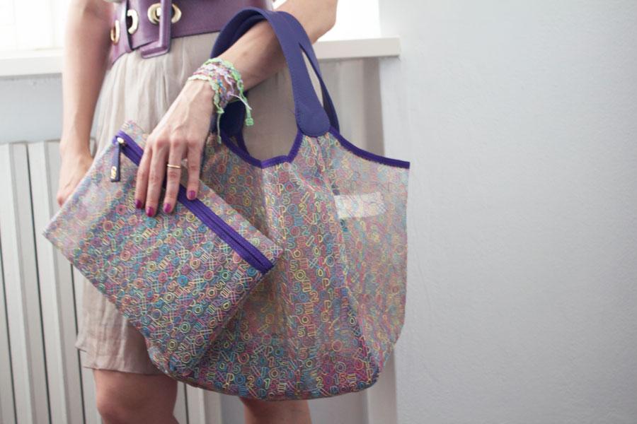 low priced 9cde8 3c1ad Expo bag by Cruciani, il brand più cool dell'estate