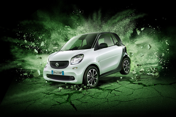La nuova smart fortwo Black Passion, tutte le caretteristiche
