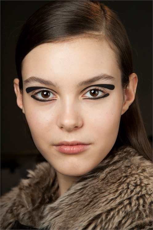 Makeup trends autunno inverno 2015 2016 indiansavage graphic makeup