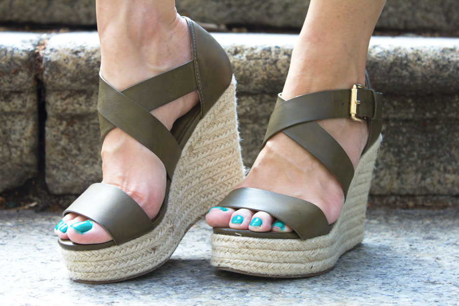 Wedges-sandals