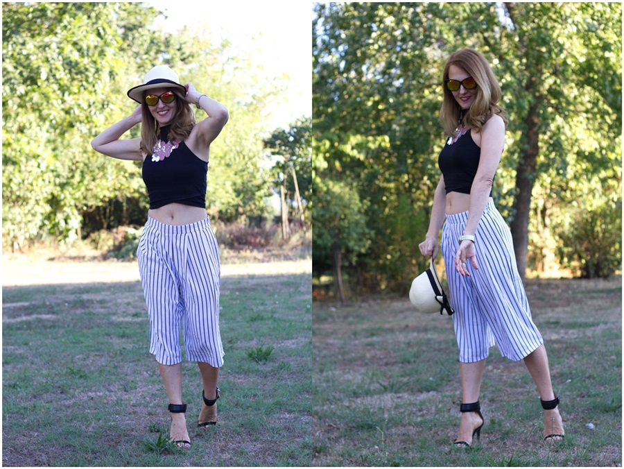 Culottes pants, style, outfit, ootd, fashion blog, fashion blogger