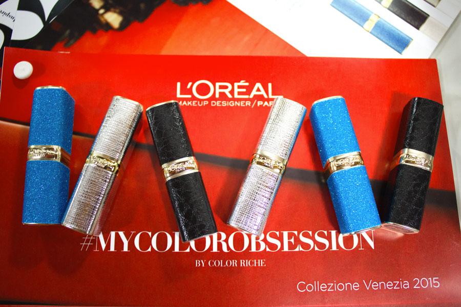 MyColorObsession by L'Oreal Paris Collezione Venezia 2015