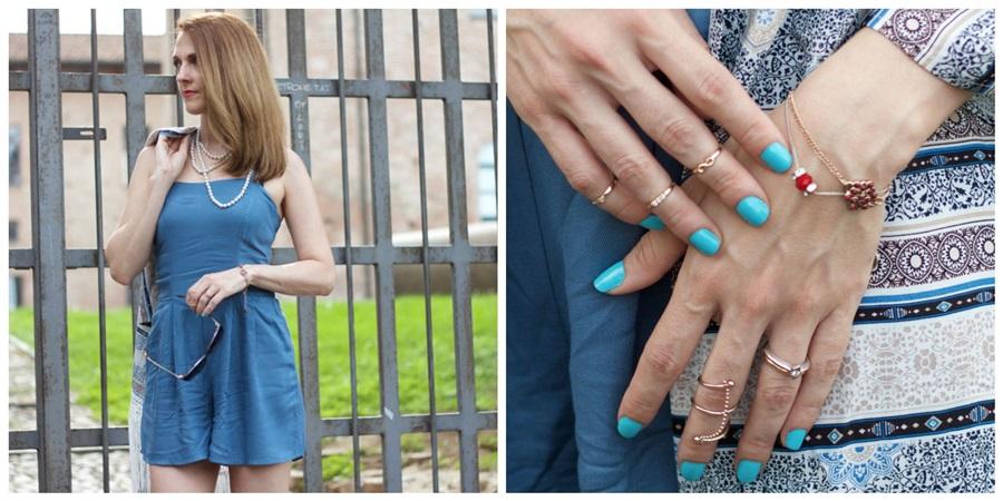 Romper midi rings bracelets