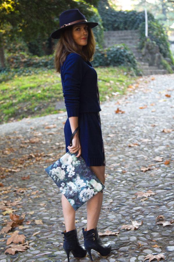 Blue-dress-for-office