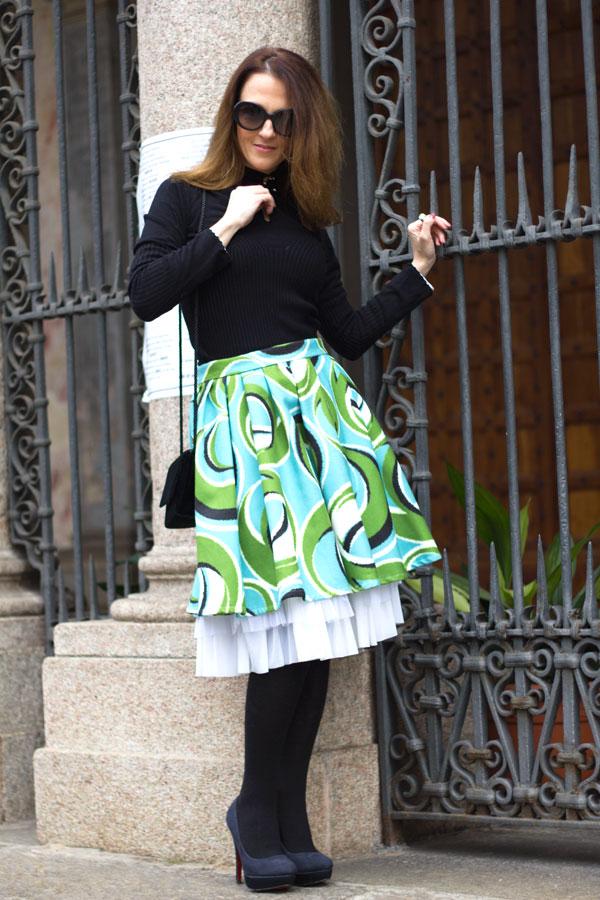 Midi-skirt-