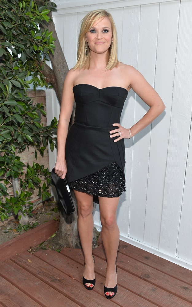 LOS ANGELES, CA - JUNE 20: Actress Reese Witherspoon attends Benjamin Millepied's L.A. Dance Project Inaugural Benefit Gala on June 20, 2013 in Los Angeles, California. (Photo by Alberto E. Rodriguez/Getty Images)