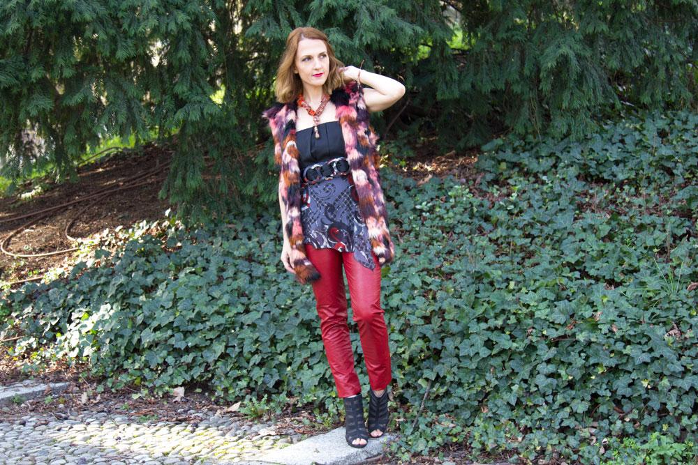 Burgundy leather pants (shannara inspiration)