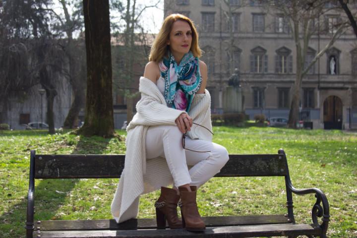 Foulard Rebel Yell Italy il dettaglio per il vostro outfit preferito.