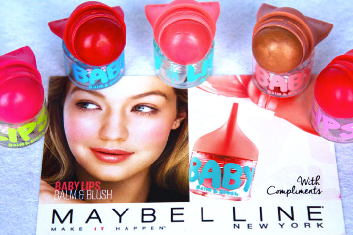 Baby Lips Balm&blush by Maybelline New York