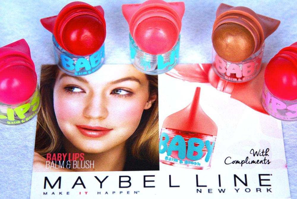 Baby Lips Balm&blush by Maybelline New York