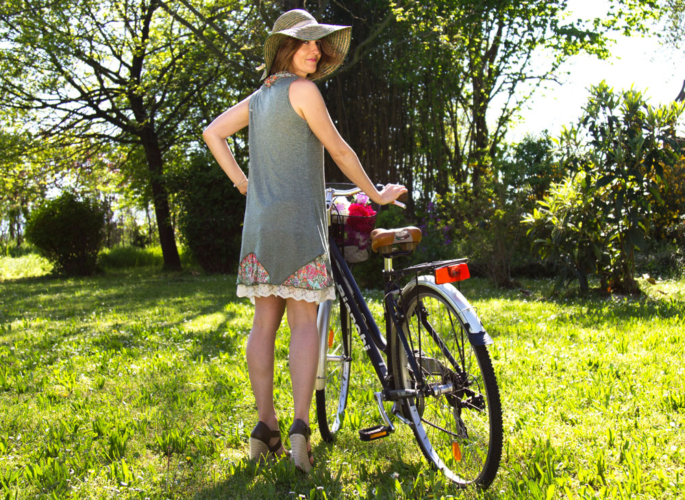 Spring bicycle outfit firmato Mamatayoe