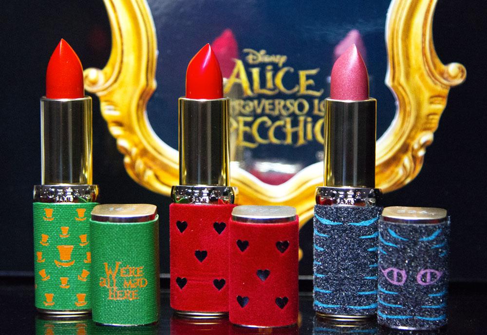 Color Riche i nuovi lipstick presentati da L'Oreal Paris e Disney
