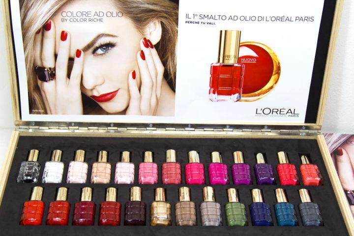"""Nuovi smalti L'Oréal """"Colore ad Olio"""" by Color Riche"""