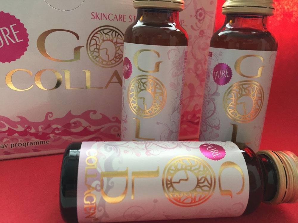 Gold Collagen, pelle più compatta e più giovane