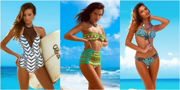 swimwear Khongboon, bikini, costumi interi, beach