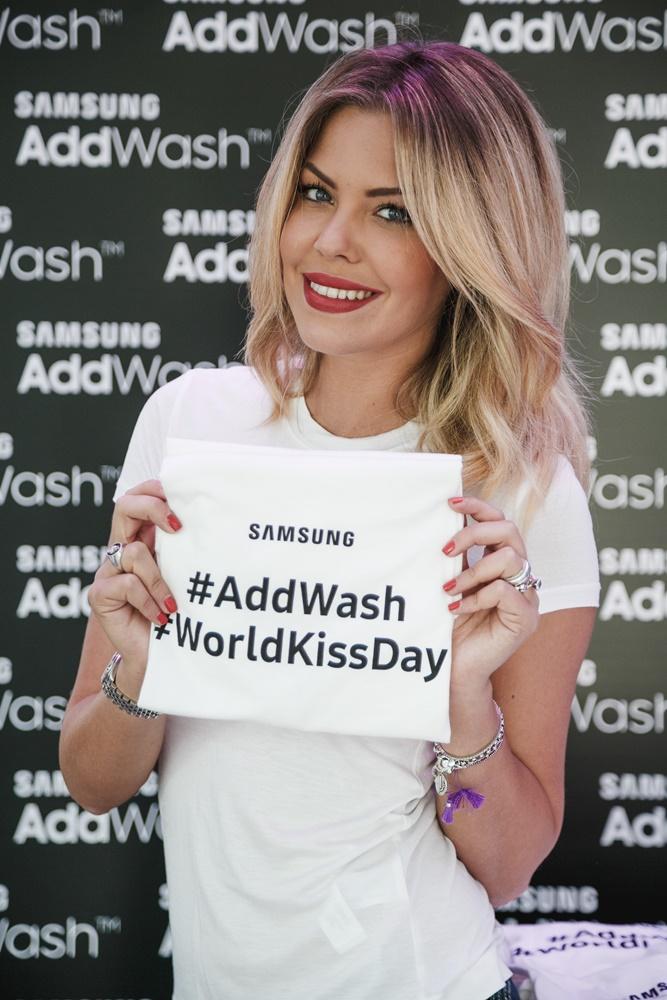 COSTANZA CARACCIOLO_EVENTO SAMSUNG ADDWASH_5 Samsung AddWash: ogni momento è buono per un bacio