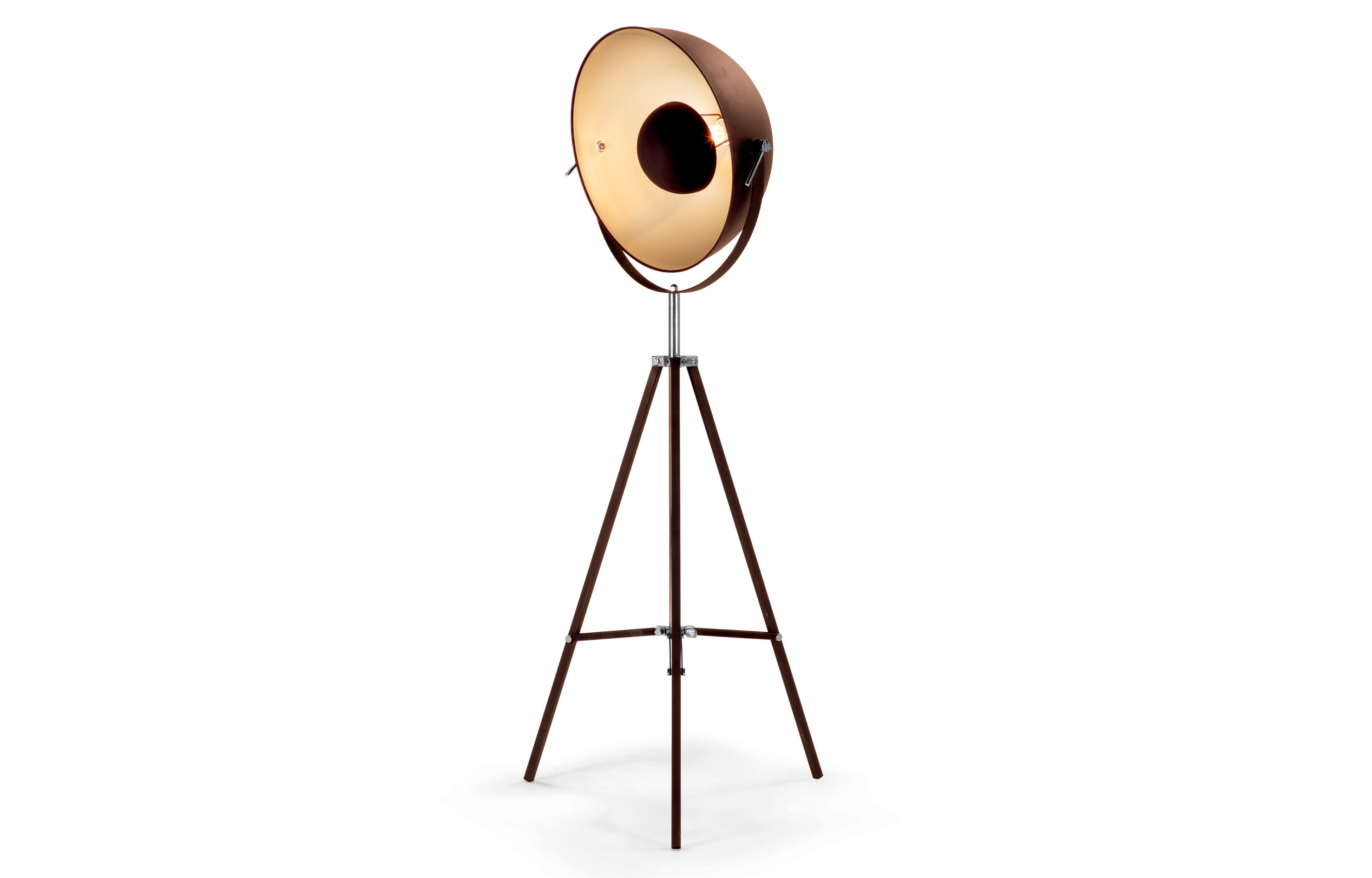 MADE.COM - design special sale Chicago Floor Lamp Antique Copper and Gold - minimale HR