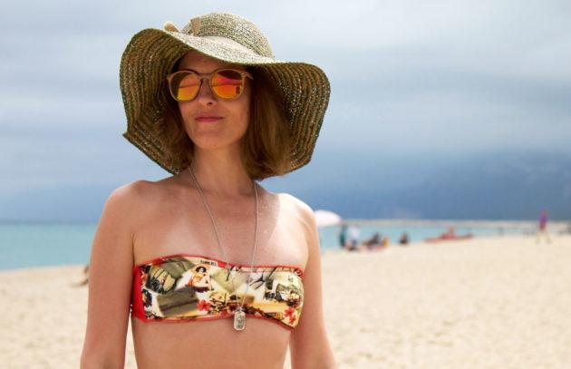 Pinup print per il mio mini bikini firmato da Divissima