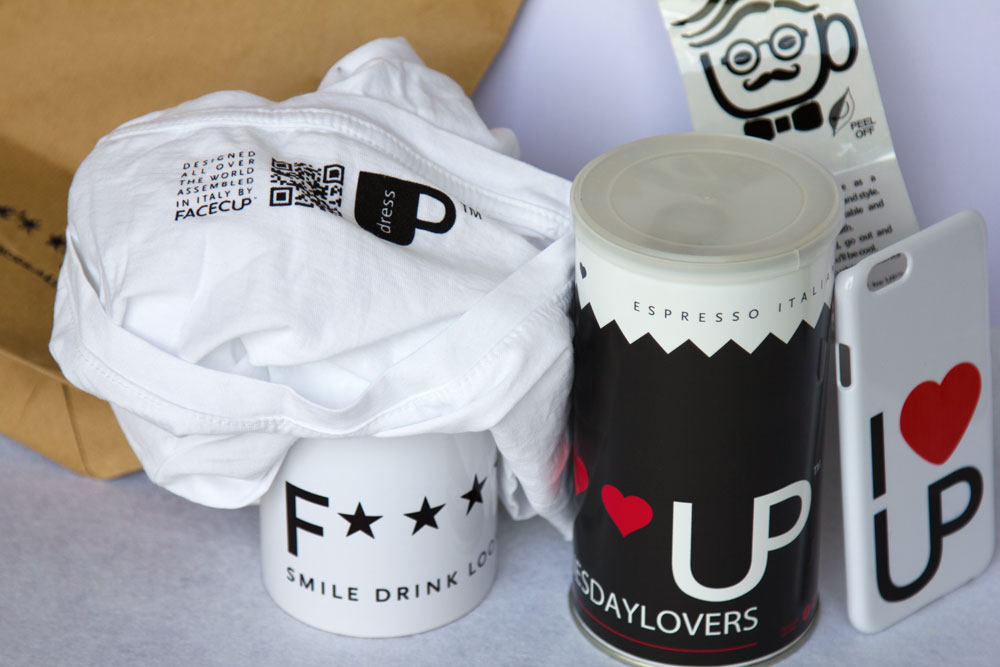 Facecup for coffee lovers only (#SMILEDRINKLOOKBETTER)