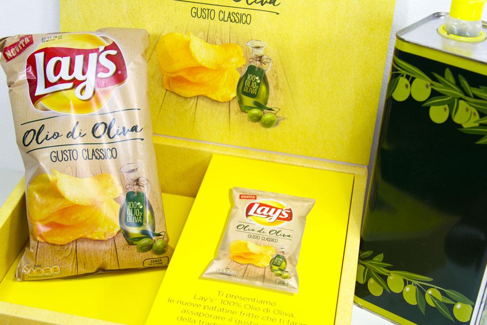 Nuovo Gusto Olio di Oliva per patatine Lay's