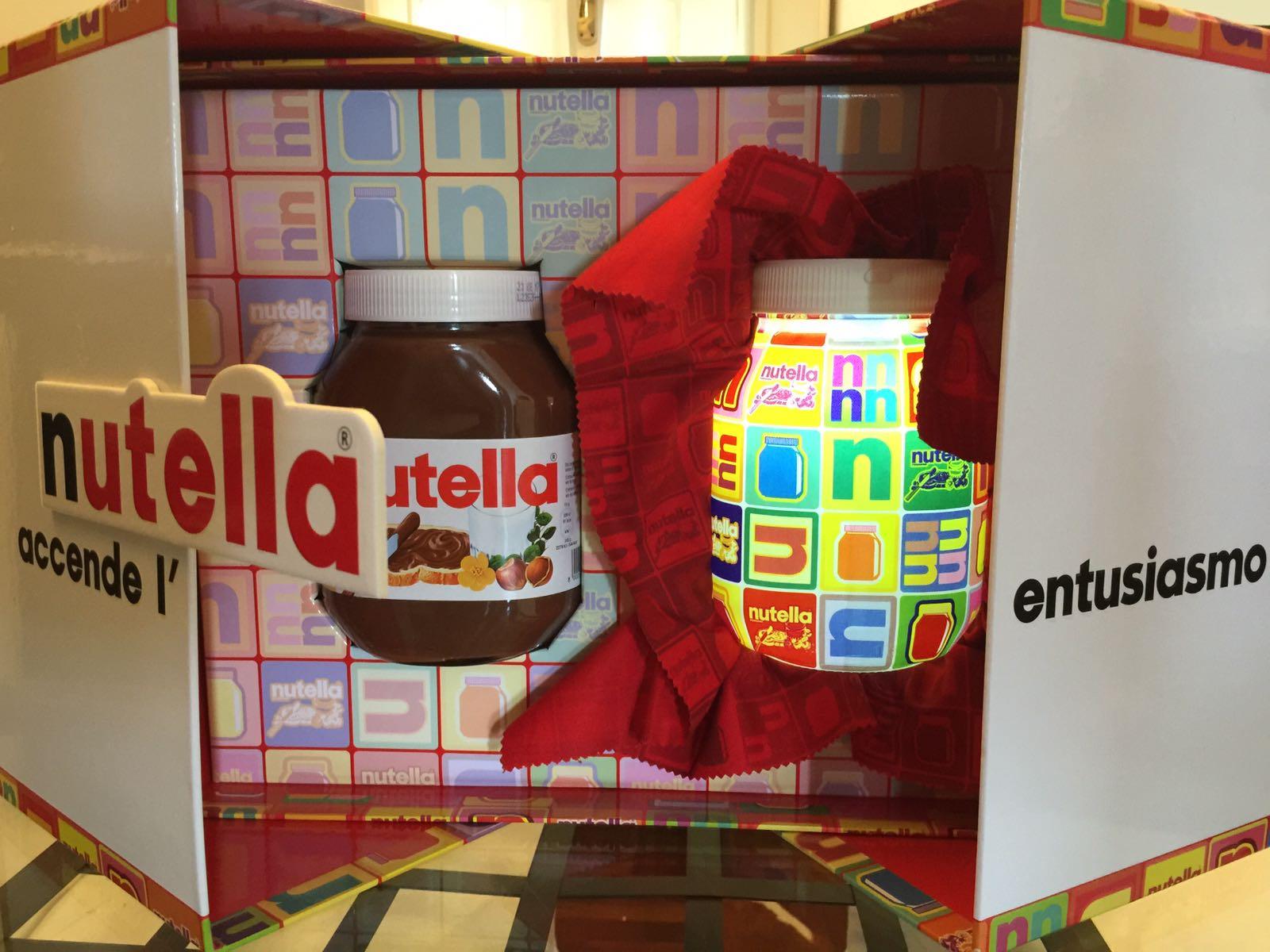 Lampada Barattolo Nutella : Nutella accende l entusiasmo come con la nutella lampada