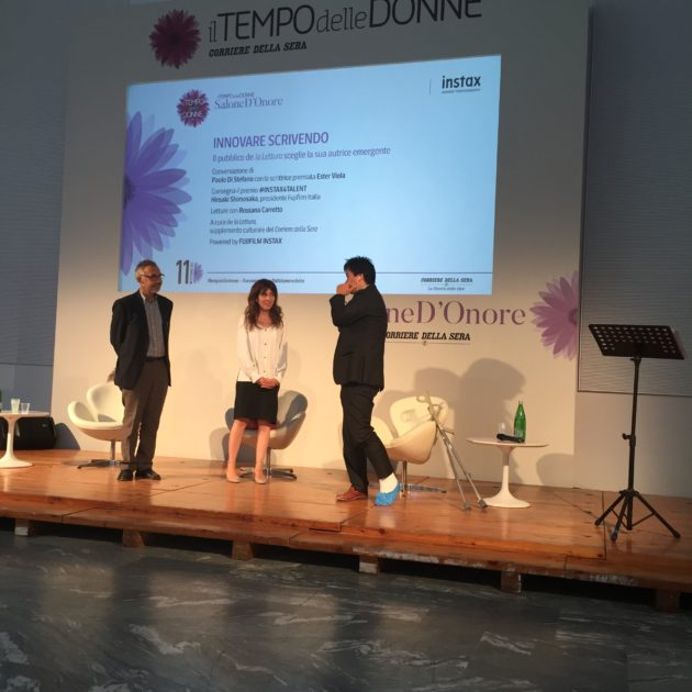 """In occasione dell'evento """"Il Tempo delle Donne"""", che si è tenuto presso la triennale di Milano, Instax ha assegnato anche quest'anno l'award #Instax4Talent"""