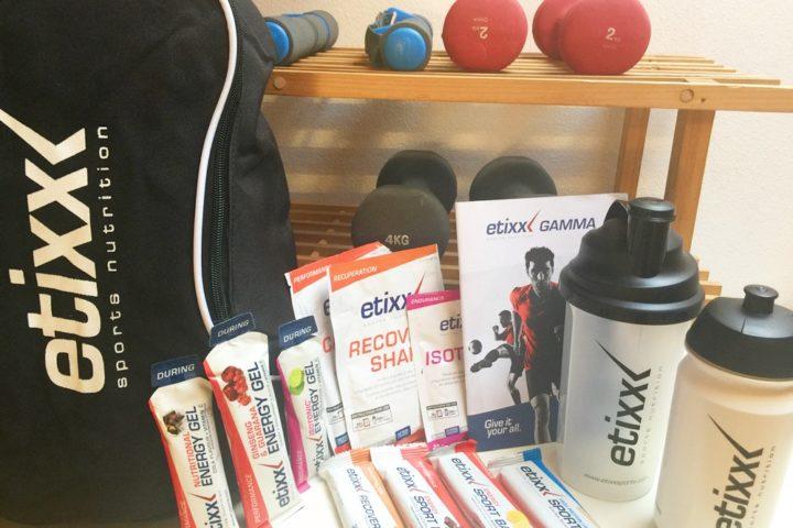 Etixx integratori per gli atleti durante ogni fase dell'allenamento!