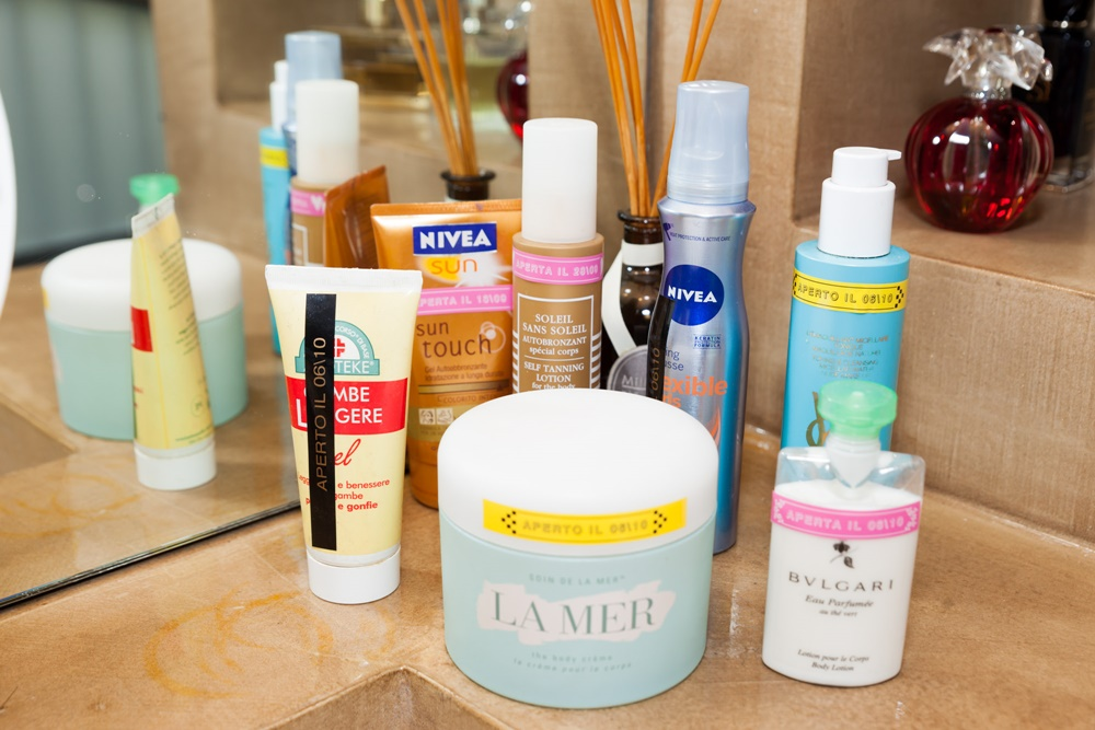 Organizzare beauty, makeup trucco