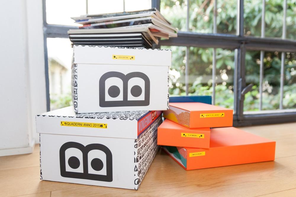 Organizzazione quaderni materiale scolastico