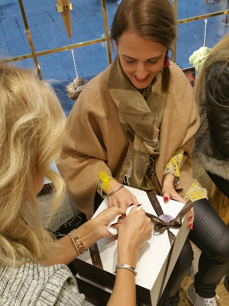 Evento Beautiful Box al femminile, Milano, Venchi gelateria