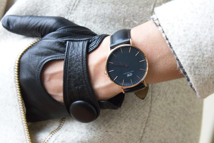 Classy watch for elegant outfit (Daniel Wellington new collection)