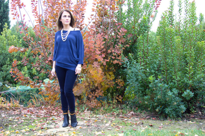 Maggie Dallospedale, Fashion Blogger, Beauty Blogger, Oroblu sweater,