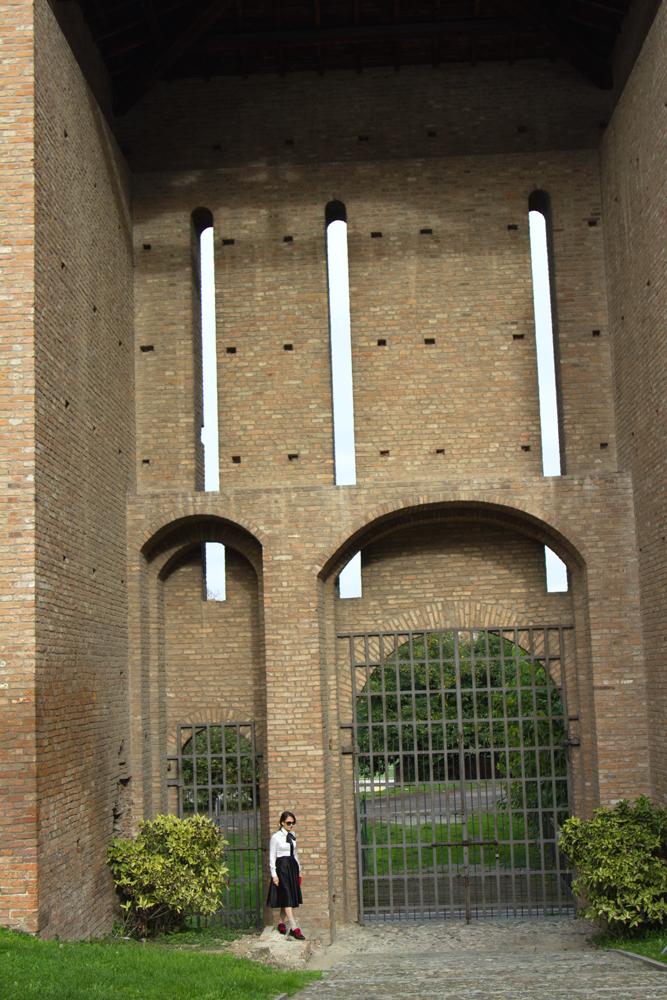 Porta cancello, Palazzo Farnese, Piacenza