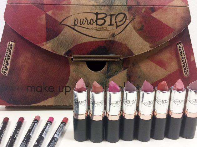 Lipstick puroBIO cosmetics, un rossetto per ogni giorno