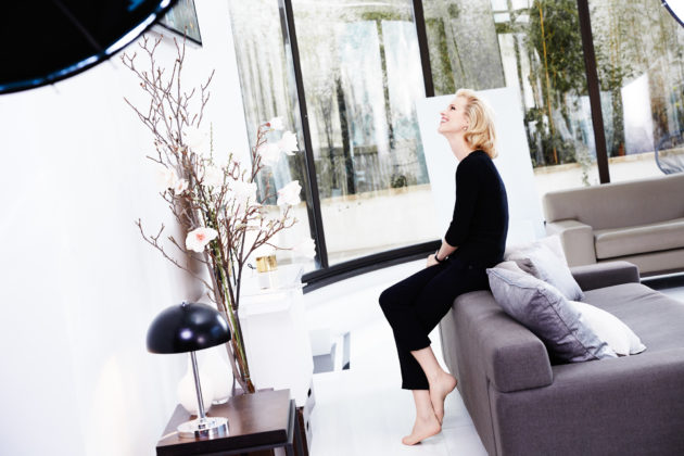 Eva Herzigova, testimonial Capture Totale by Dior