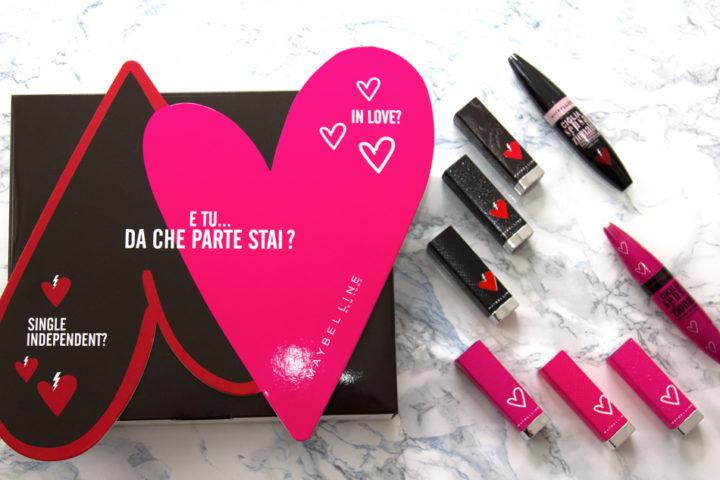 San Valentino makeup? Con i prodotti Maybelline! #makelovehappenmaybelline