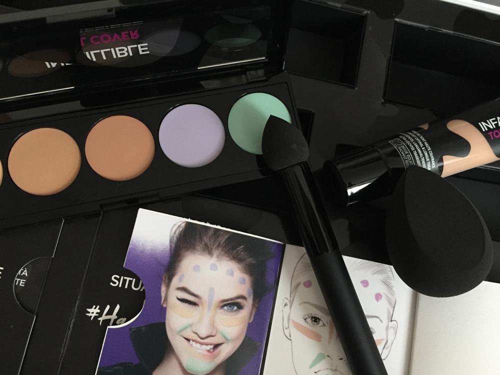 Palette correttore L'Oréal Infaillible Total Cover