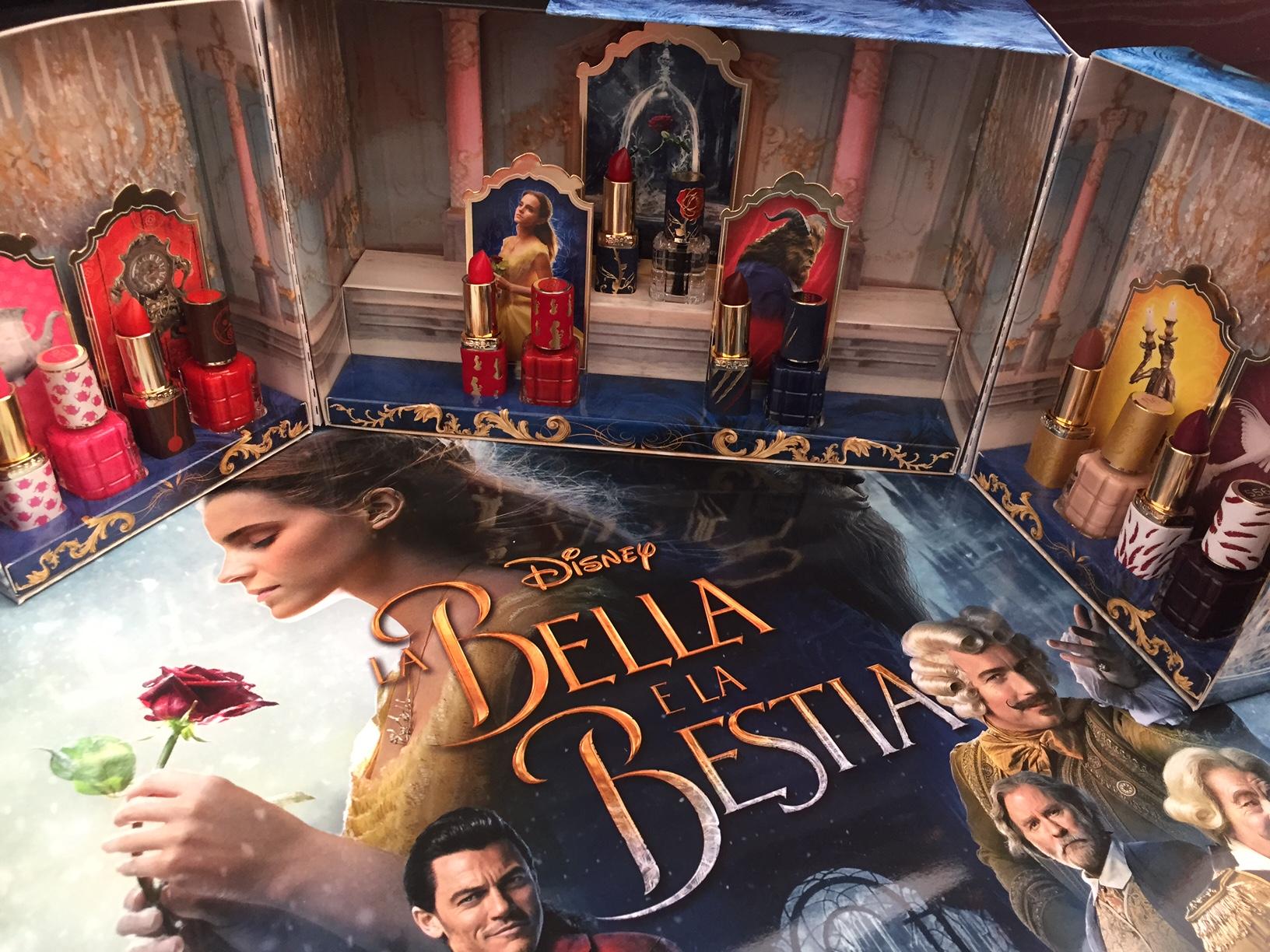 La Bella e la Bestia collezione rossetti smalti by L'Oréal makeup designer Paris