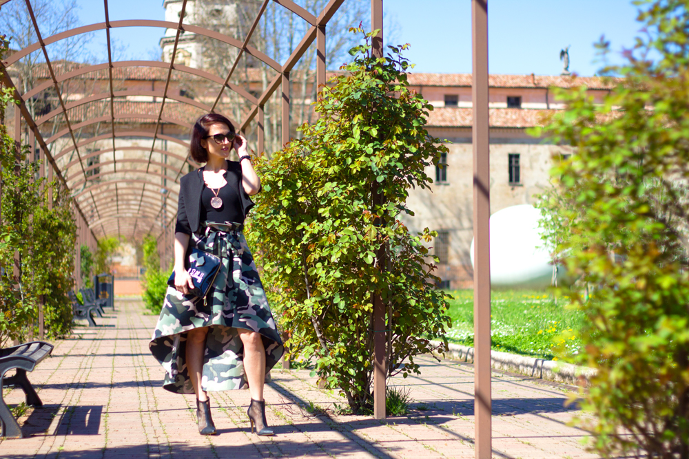 Fashion blogger, outfit of the day