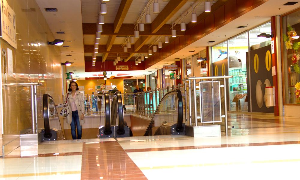 Auchan una giornata di shopping al centro commerciale for Auchan san rocco al porto