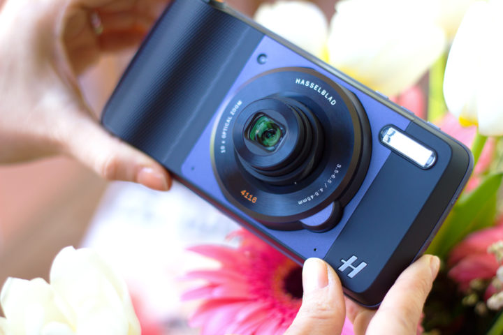 Hasselblad, la nuova fotocamera (Moto Mods) per il vostro MotoZ by Lenovo