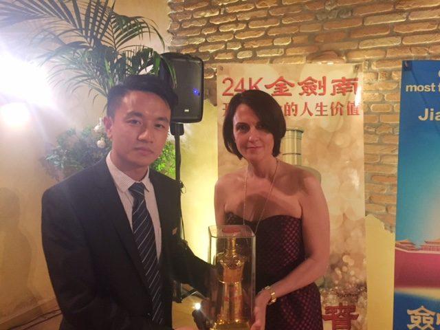 Jinjiannan, il liquore più amato a Pechino è stato presentato a Tutto Food