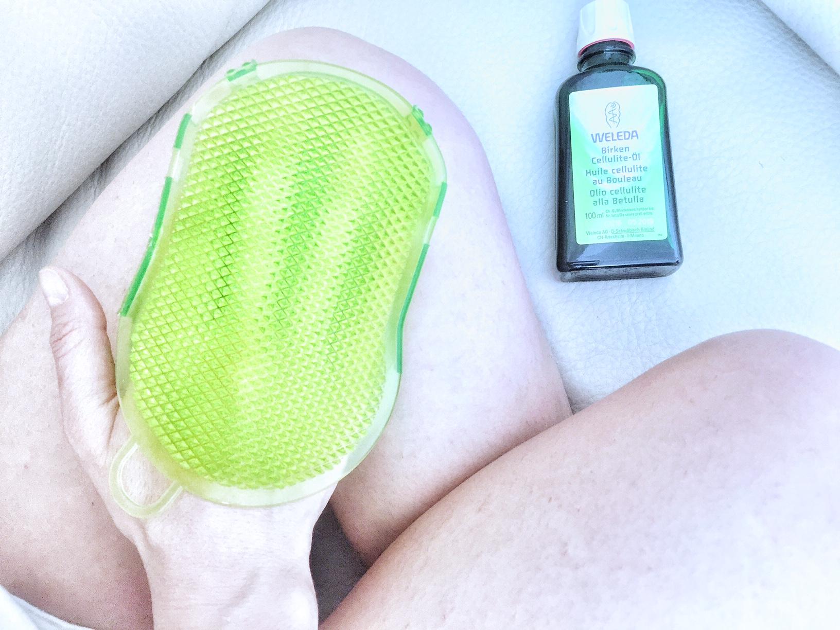 """Cellulite addio con il trattamento """"dentro&fuori"""" Betulla Weleda"""